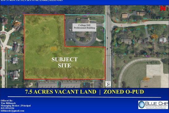 null bed null bath Vacant Land at 650 N State Route 31 Crystal Lake, IL, 60012 is for sale at 649k - google static map