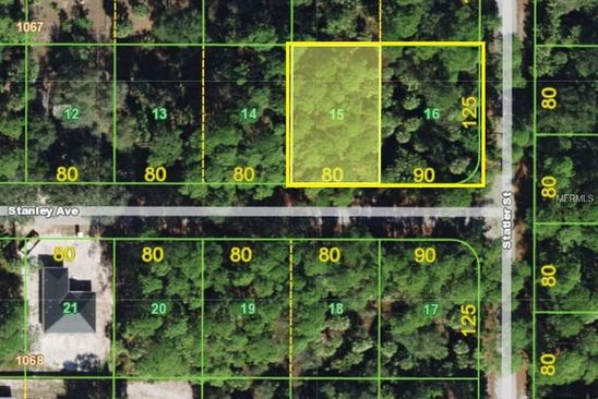 null bed null bath Vacant Land at 17484 Stanley Ave Port Charlotte, FL, 33954 is for sale at 15k - google static map