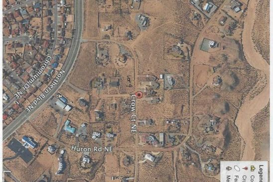 null bed null bath Vacant Land at  Crow Ct NE Rio Rancho, NM, 87144 is for sale at 35k - google static map