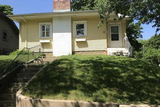 2 bed 1.75 bath Single Family at 1101 S 6TH AVE SIOUX FALLS, SD, 57105 is for sale at 80k - google static map