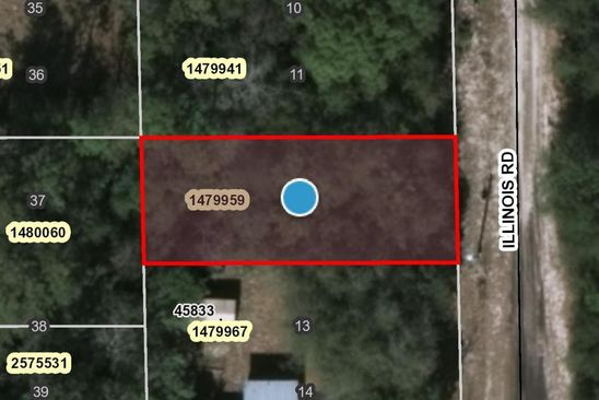 null bed null bath Vacant Land at 00 Illinois Rd Altoona, FL, 32702 is for sale at 2k - google static map