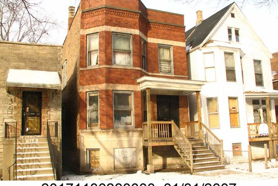 7 bed 2 bath Multi Family at 5614 S Throop St Chicago, IL, 60636 is for sale at 45k - google static map