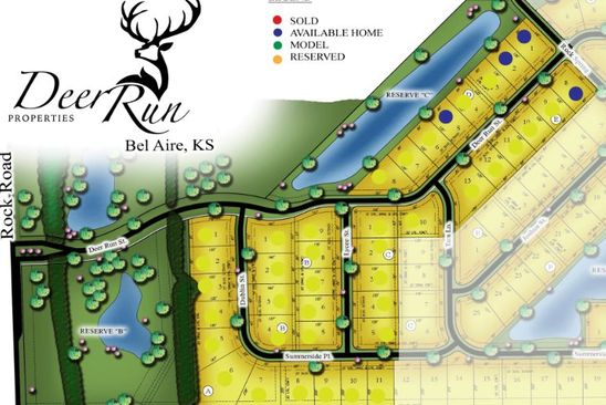 null bed null bath Vacant Land at 8466 E Deer Run Bel Aire, KS, 67226 is for sale at 40k - google static map