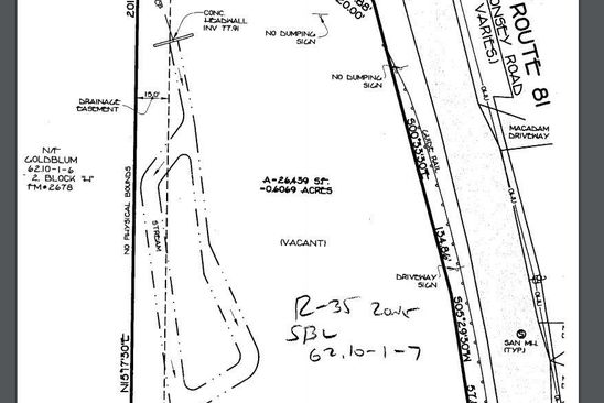 0 bed null bath Vacant Land at 59 S Monsey Rd Airmont, NY, 10952 is for sale at 59k - google static map