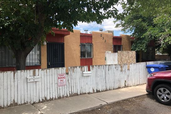 0 bed null bath Multi Family at 233 Alcazar St NE Albuquerque, NM, 87108 is for sale at 180k - google static map